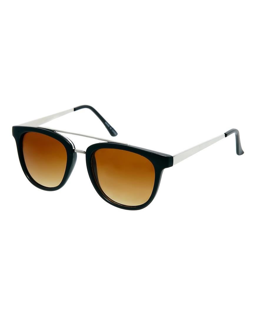 Gafas de sol negras Silje de Pieces, gafas de sol de mujer de moda