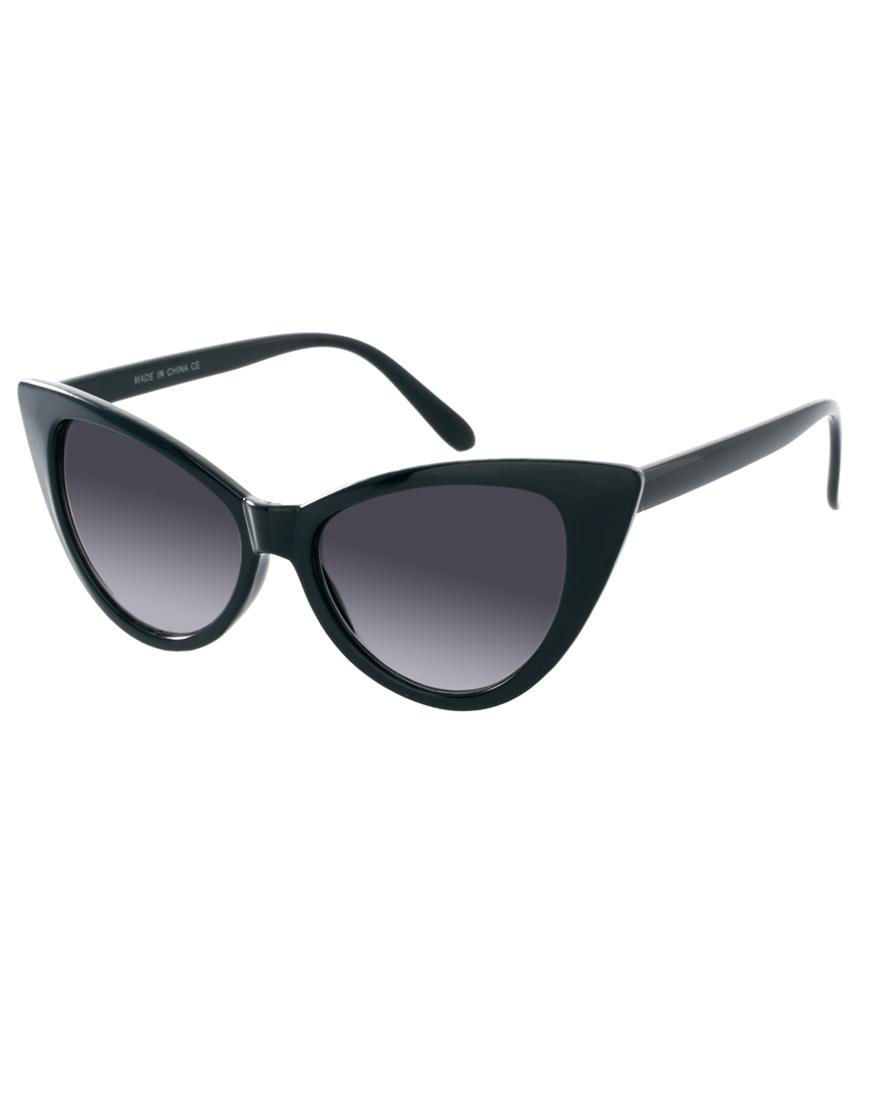 Gafas de sol ojos de gato , tendencias en gafas de sol