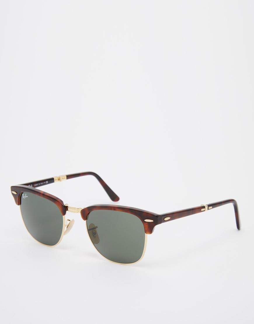 Gafas de sol plegables Clubmaster , las gafas de sol de moda