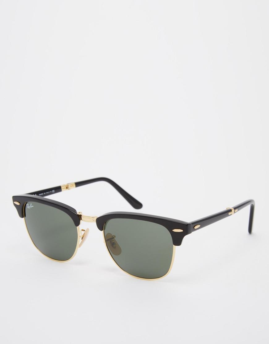 Gafas de sol plegables Clubmaster , gafas de sol retro mujer