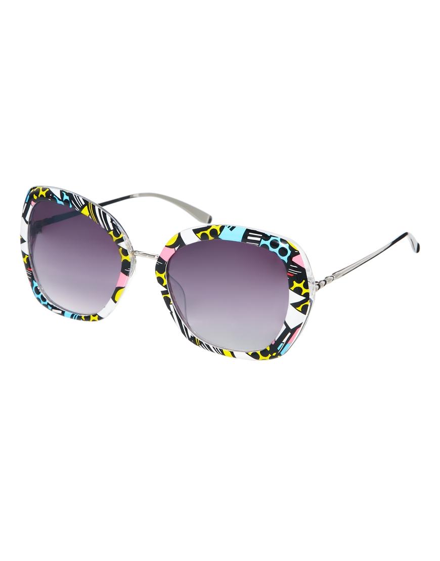 Gafas de sol rectangulares de Jeepers Peepers, moda en gafas
