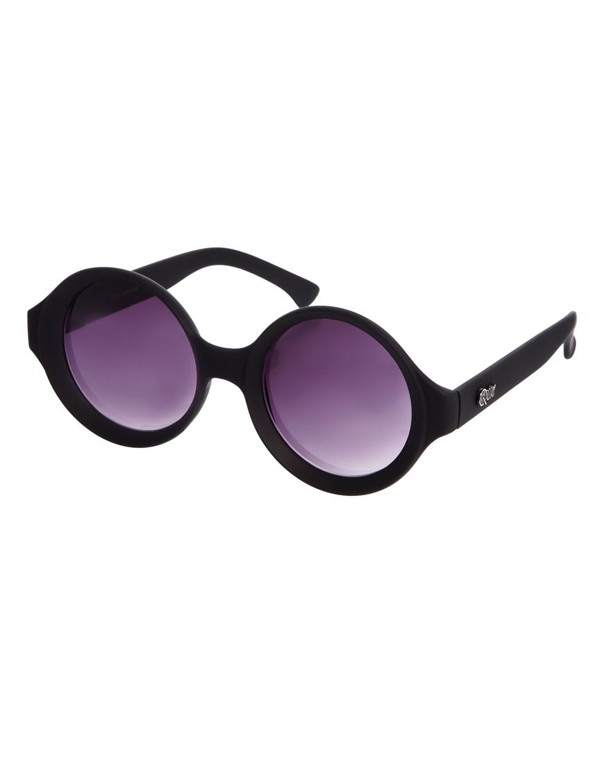 Gafas de sol redondas de Quay Bellpop, gafas de sol retro mujer