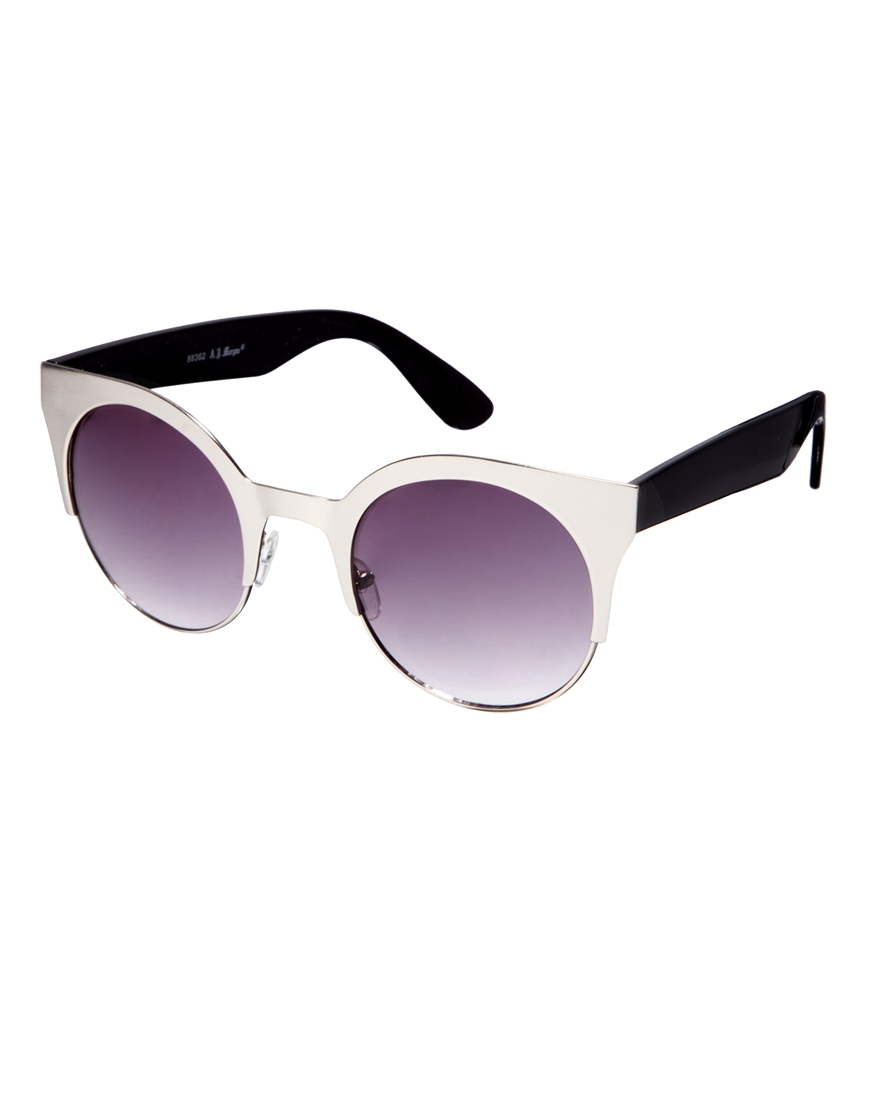 Gafas de sol redondas Venus de AJ Morgan, gafas de sol de moda