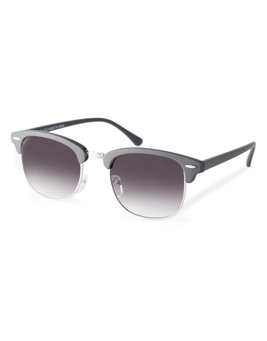 Gafas de sol retro clásicas mate , moda gafas de sol