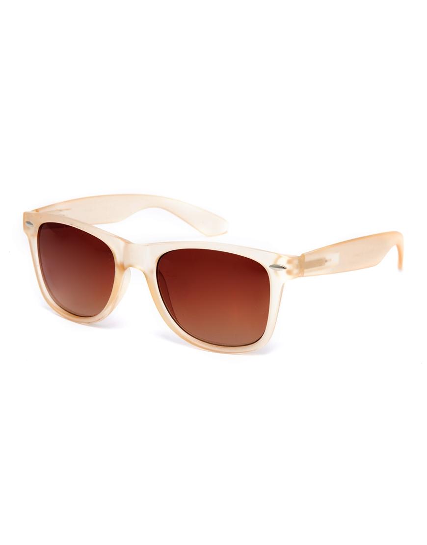 Gafas de sol retro con acabado mate , gafas de sol de mujer de moda