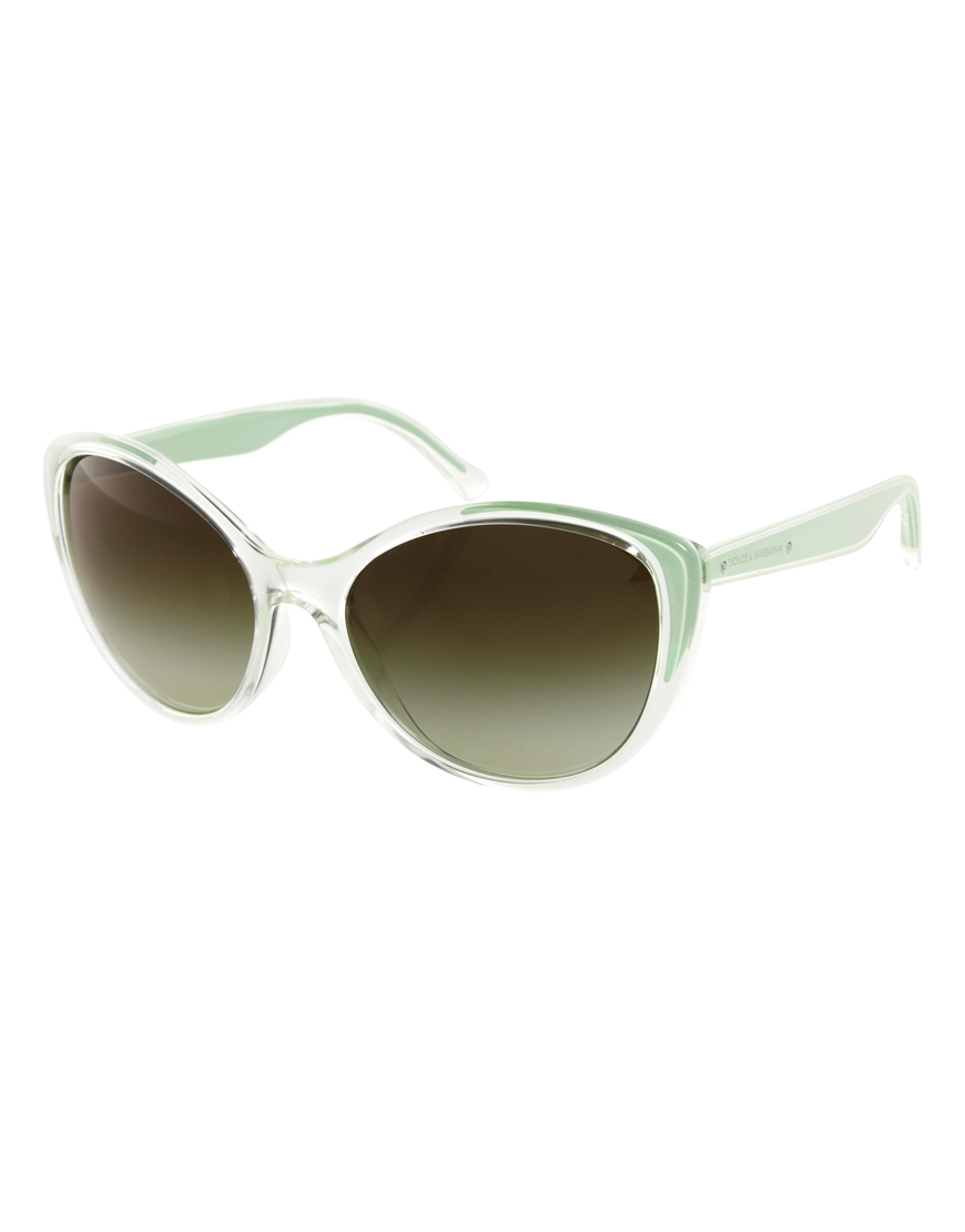 Gafas de sol verdes Mambo de Dolce & Gabbana, moda gafas de sol