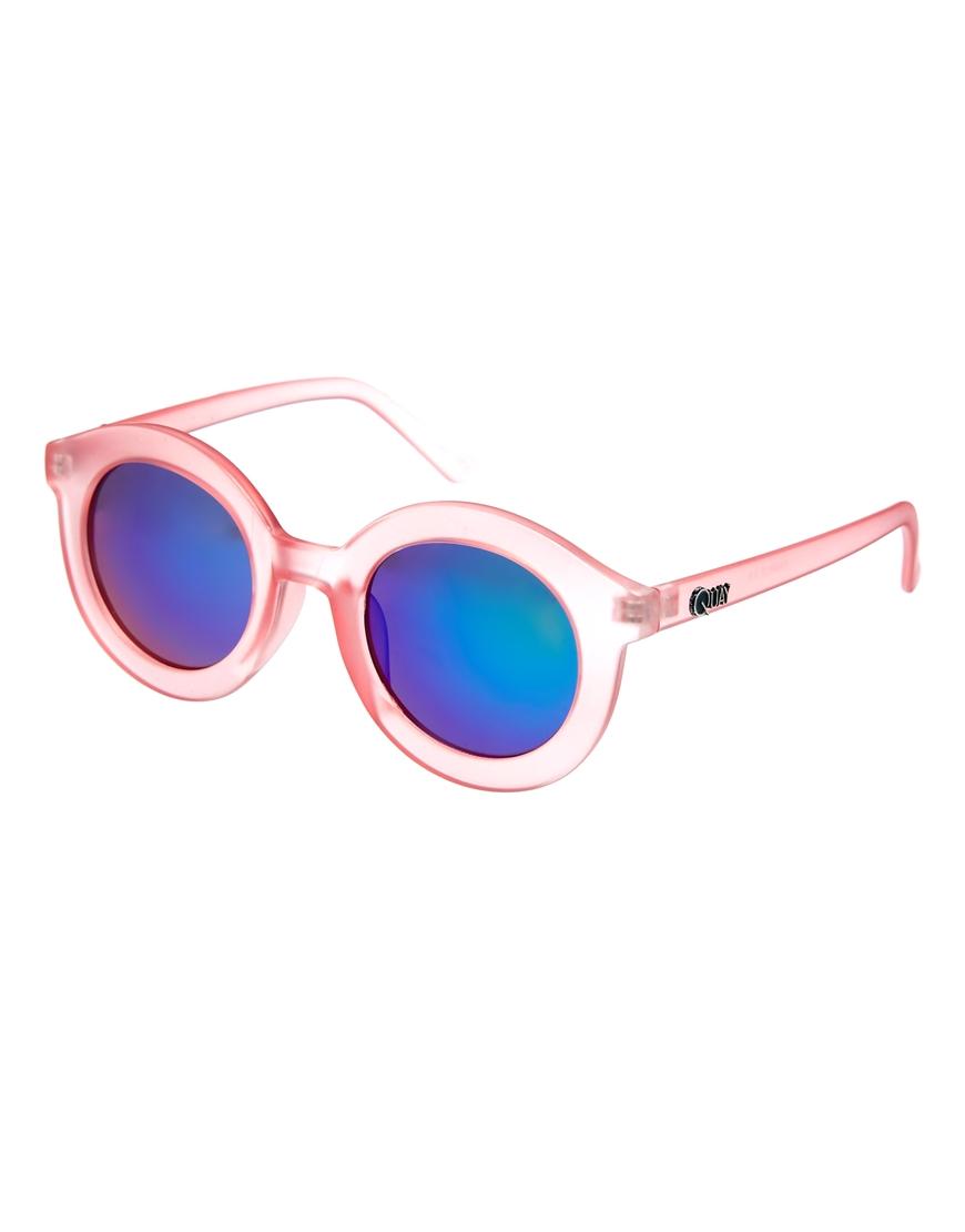 Quay Charlie Mirrored Sunglasses, moda en gafas de sol