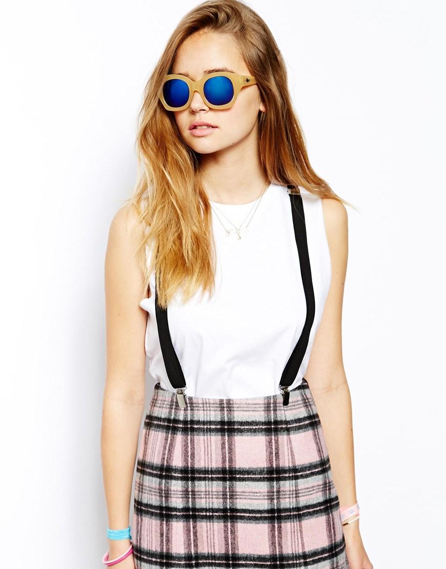 Quay Venna Mirrored Sunglasses, gafas de sol tendencias