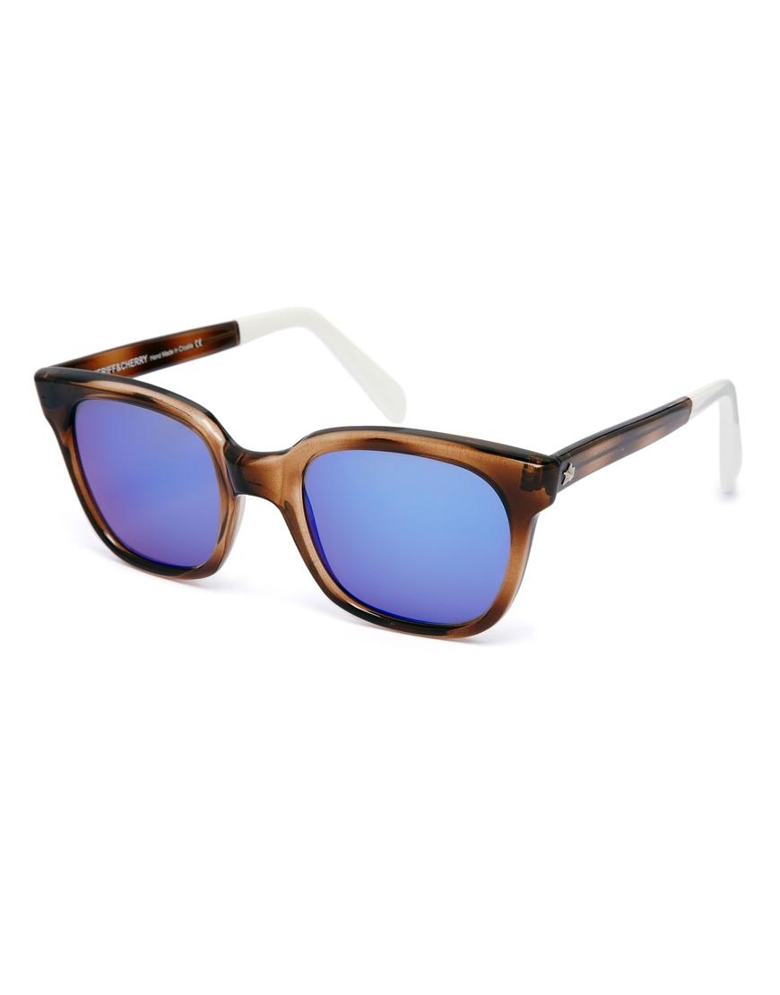 Sheriff&Cherry D Frame Mirrored Sunglasses, las gafas de sol de moda