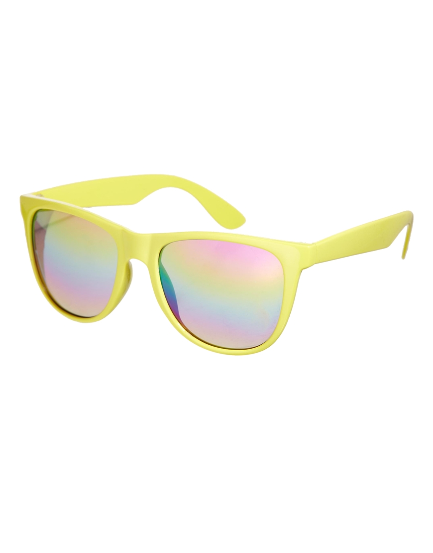 AJ Morgan D Frame Sunrise Mirrored Sunglasses