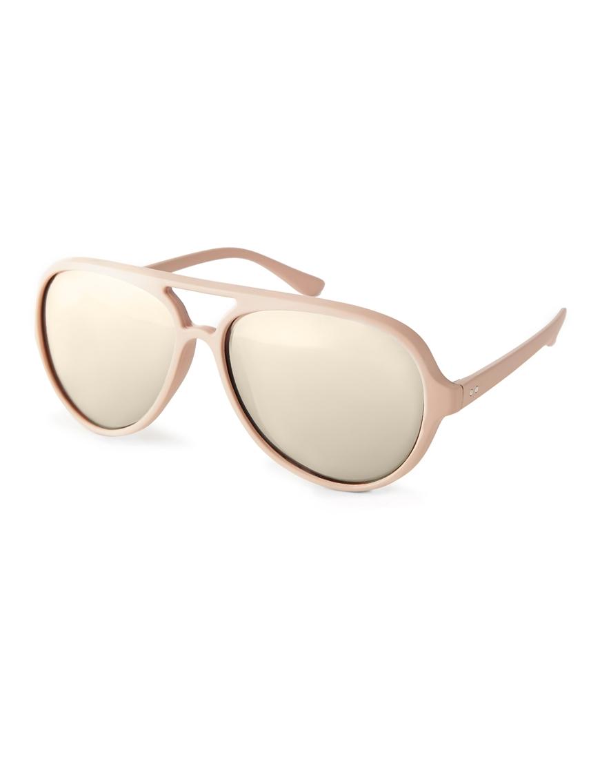 Gafas de sol aviador, cristales plateados , tendencias en gafas