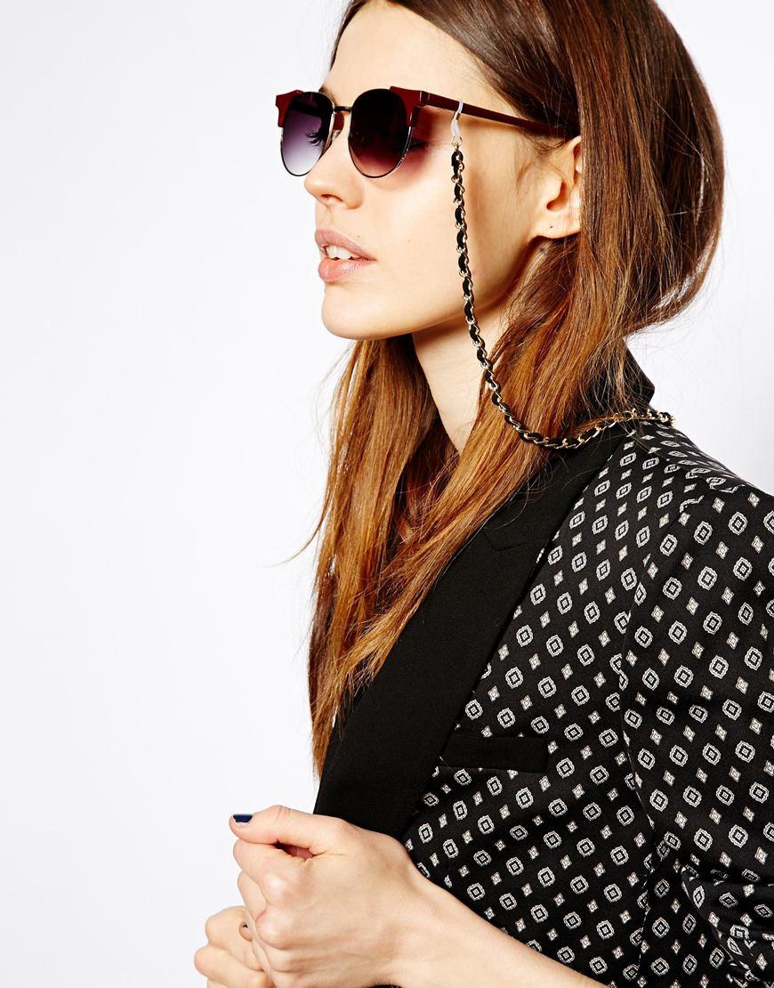 Cadena gruesa para gafas de sol
