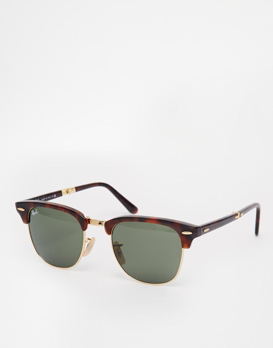 Gafas de sol Clubmaster con diseño plegable de Ray-Ban