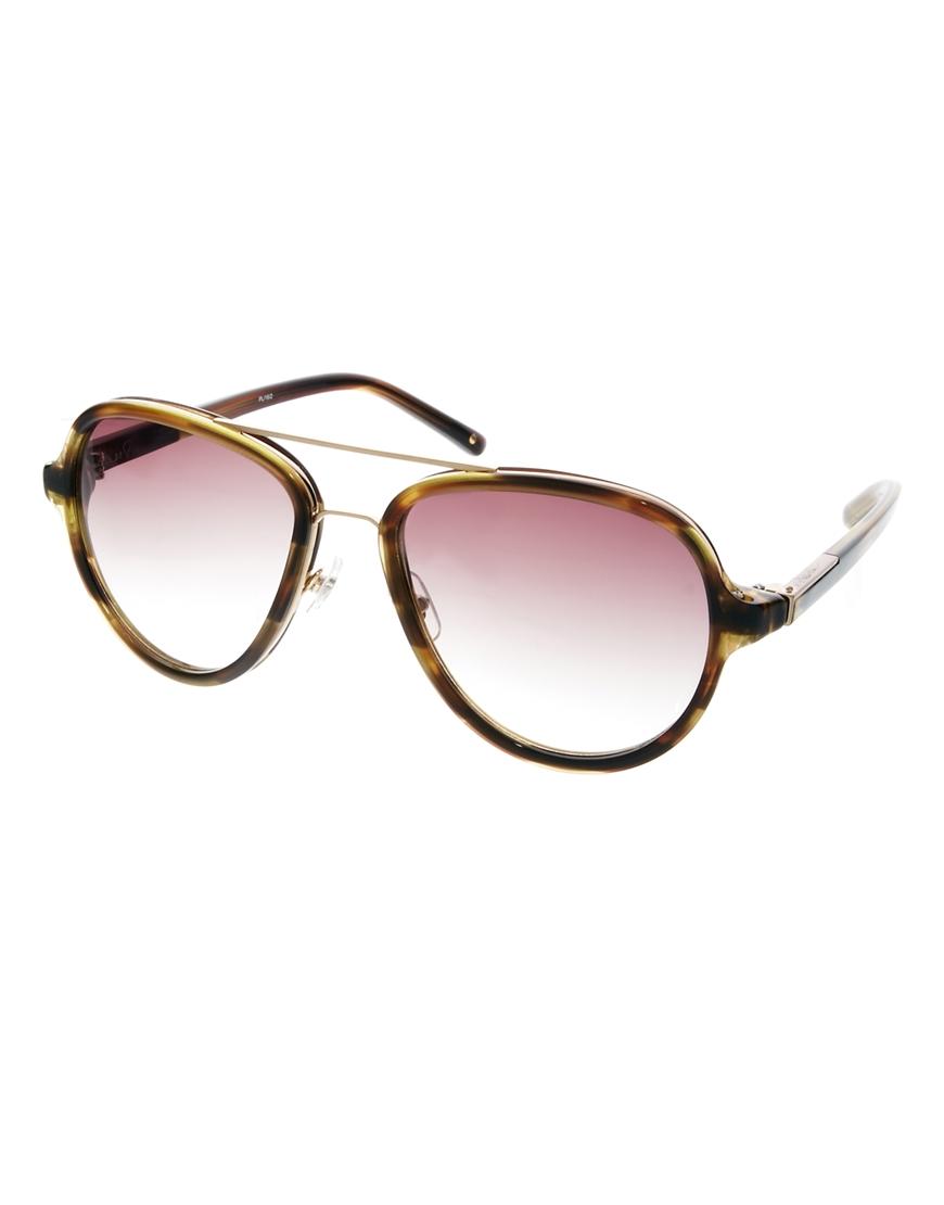 Gafas de sol estilo aviador , las gafas de sol de moda