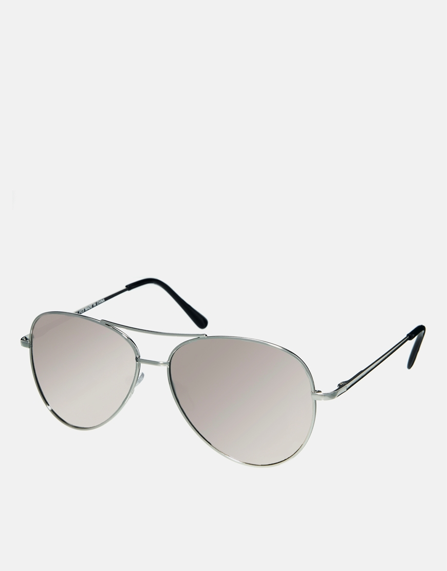 Gafas de sol en plateado, lentes espejo , gafas de sol retro mujer