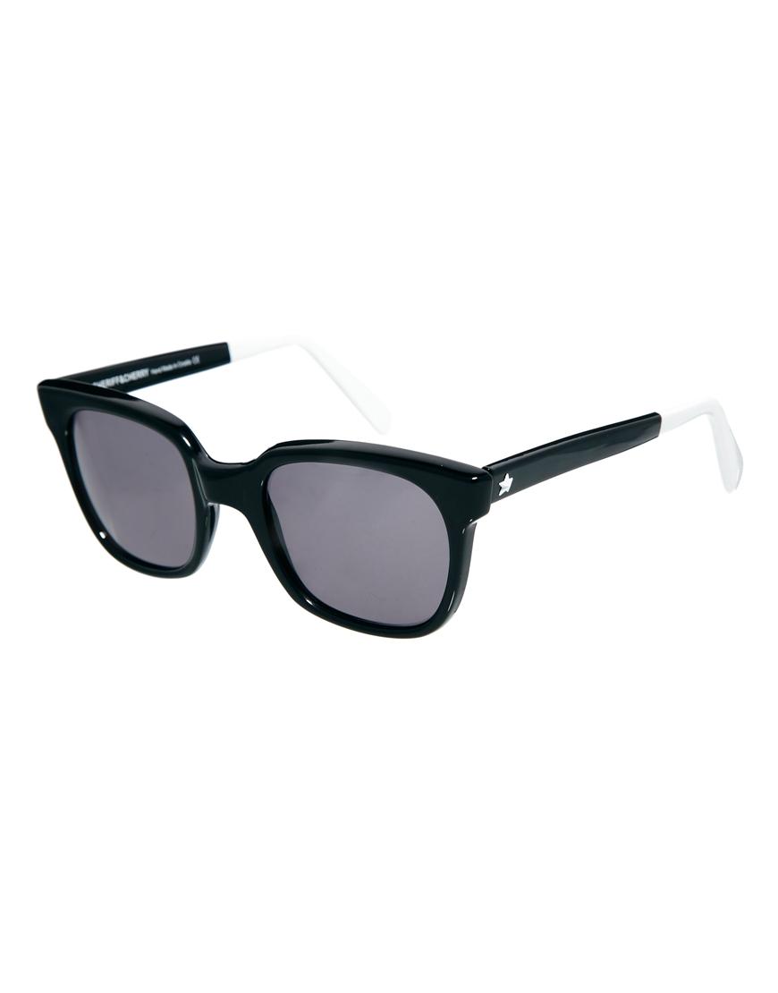 Gafas de sol con montura en forma de D de Sheriff & Cherry