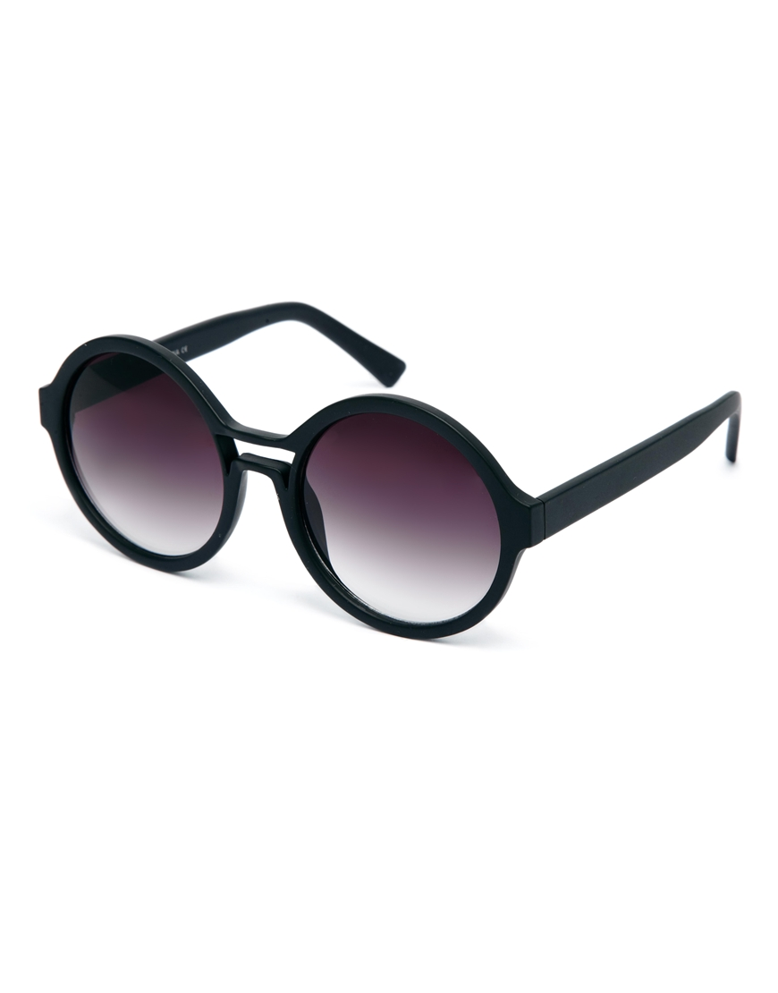 ASOS Round Sunglasses With Cut Out Detail, las gafas de sol de moda