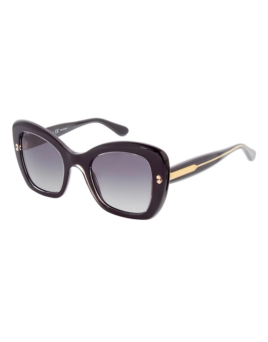 Gafas de sol cuadradas de Dolce and Gabbana
