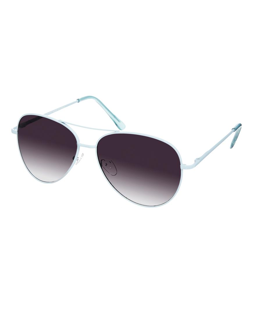 Gafas de sol estilo aviador de color esmaltadas