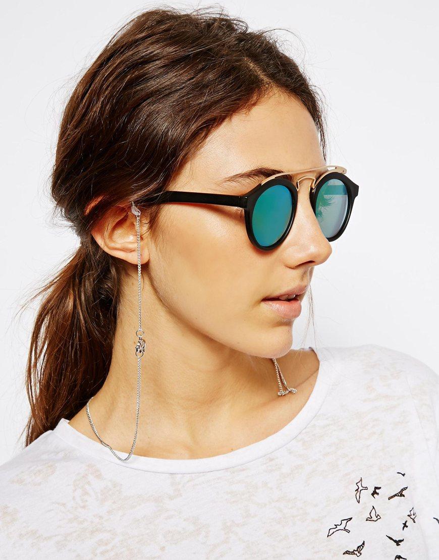 Cadena para gafas de sol con elefantes , gafas de sol para mujer