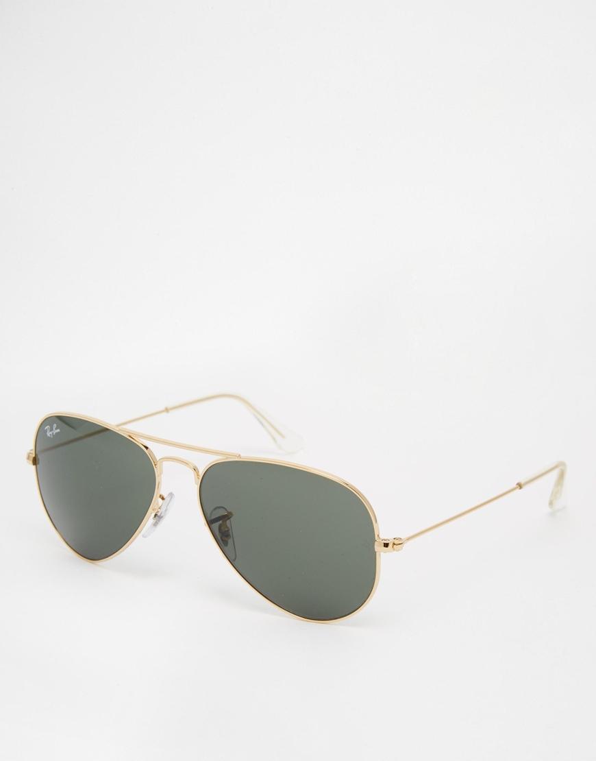 Gafas de sol Aviator de Ray-Ban, gafas de moda
