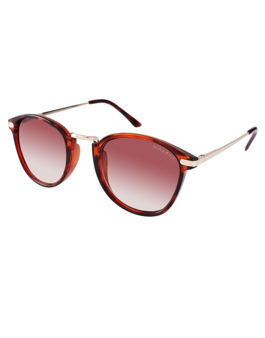 Gafas de sol con montura de carey Reality, gafas de sol de mujer