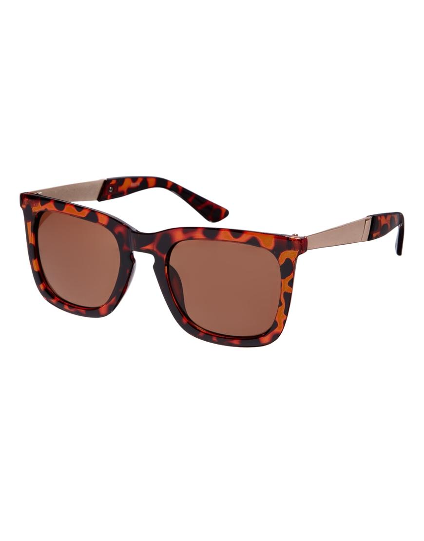 Gafas de sol cuadradas Ruff de AJ Morgan, tendencias gafas