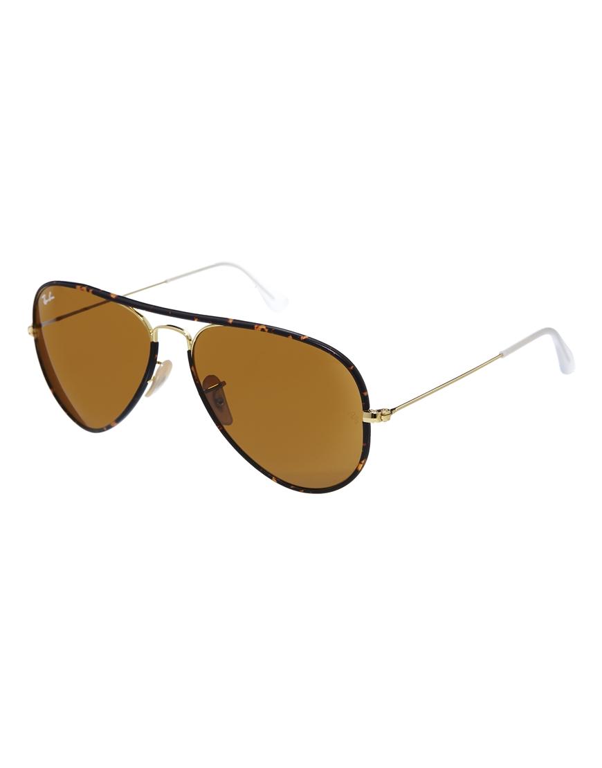 Gafas de sol de carey Aviator de Ray-Ban, gafas de sol
