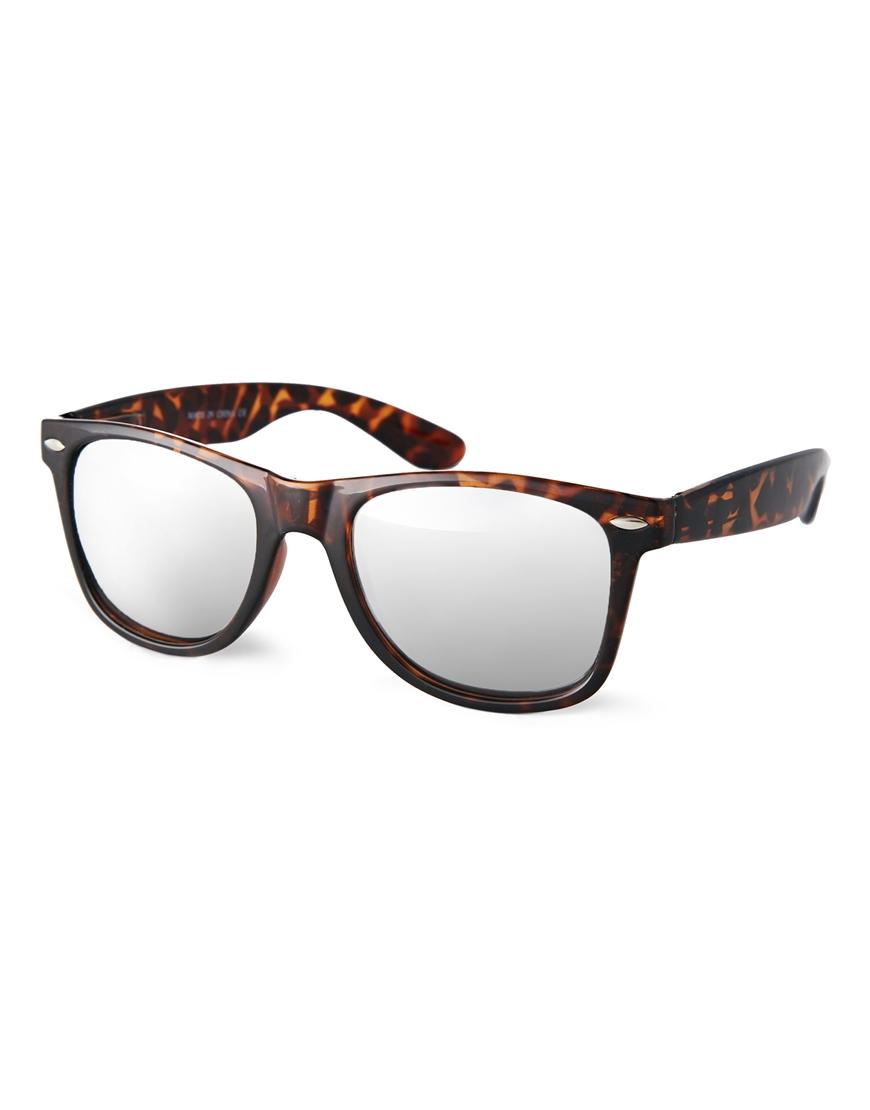 Gafas de sol con lentes de espejo , gafas de sol moda