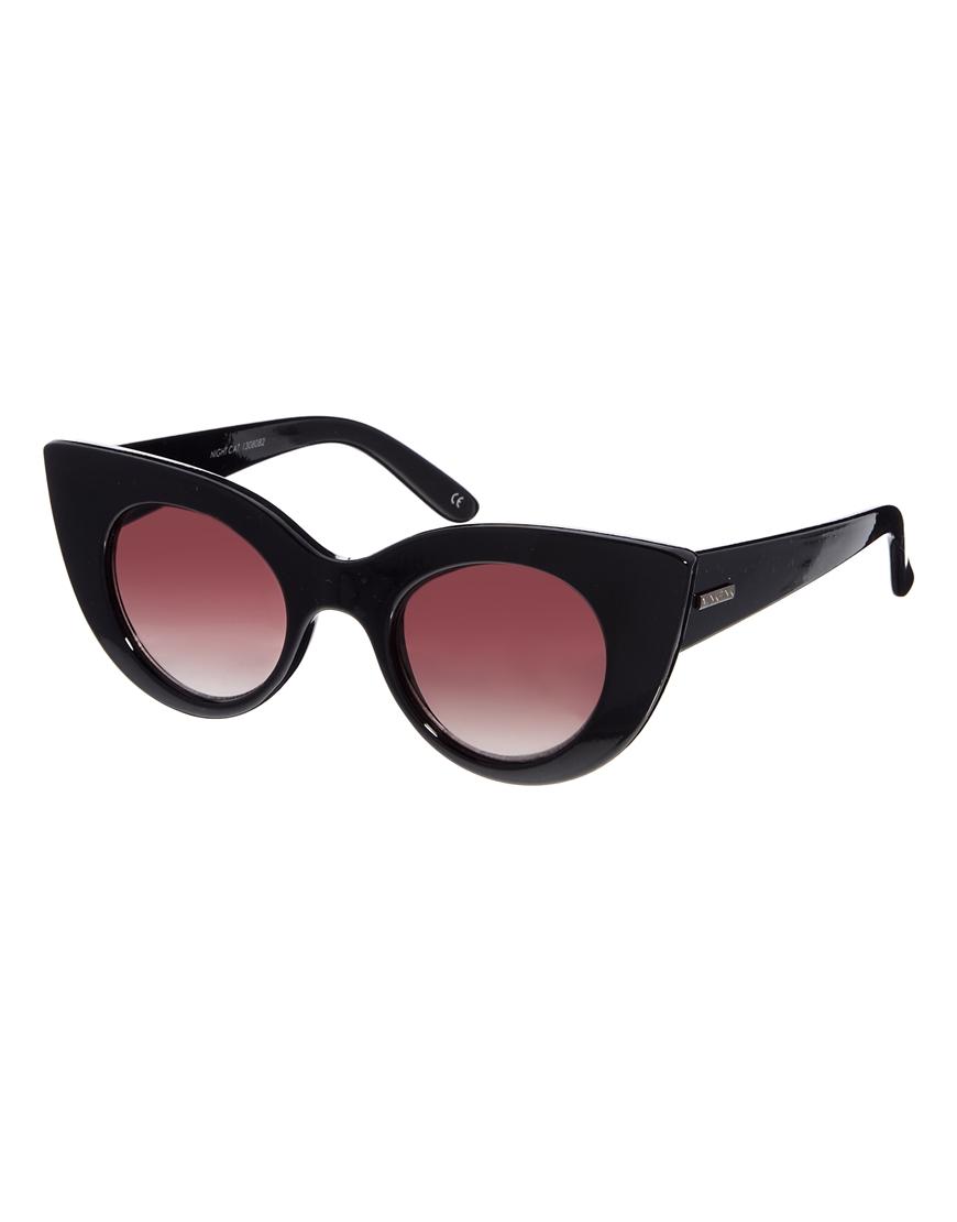 Gafas de sol de ojos de gato Night de Minkpink, moda gafas de sol