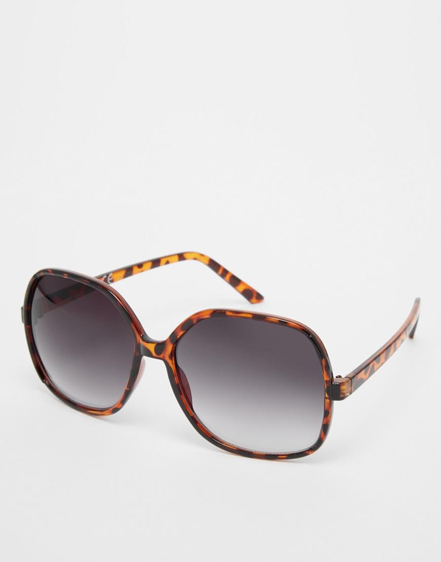 Gafas de sol extragrandes estilo años 70 , moda en gafas de sol