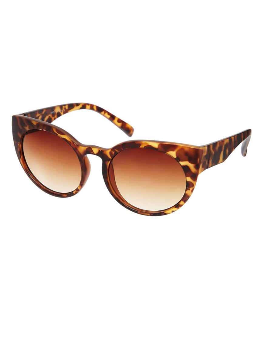 Gafas de sol gruesas estilo ojos de gato , las gafas de sol de moda